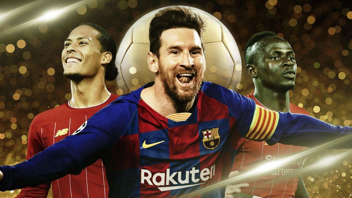 Messi, van Dijk, Mané... Notre Top 5 du Ballon d'Or