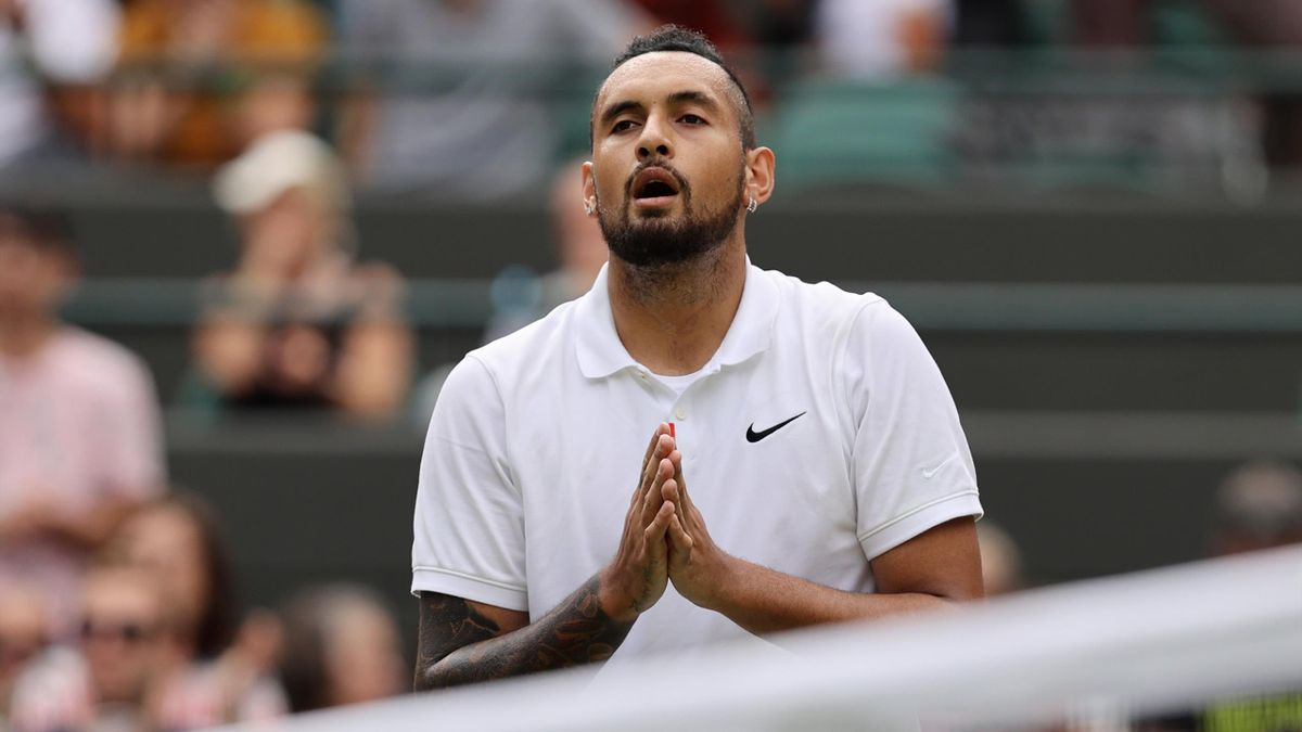 Nick Kyrgios musste in Wimbledon verletzungsbedingt aufgeben