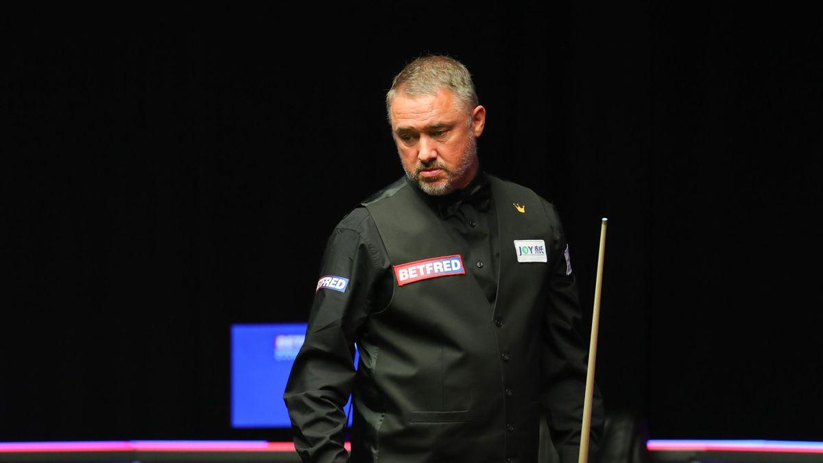 Stephen Hendry in 2021 World Championship qualifying (World Snooker)