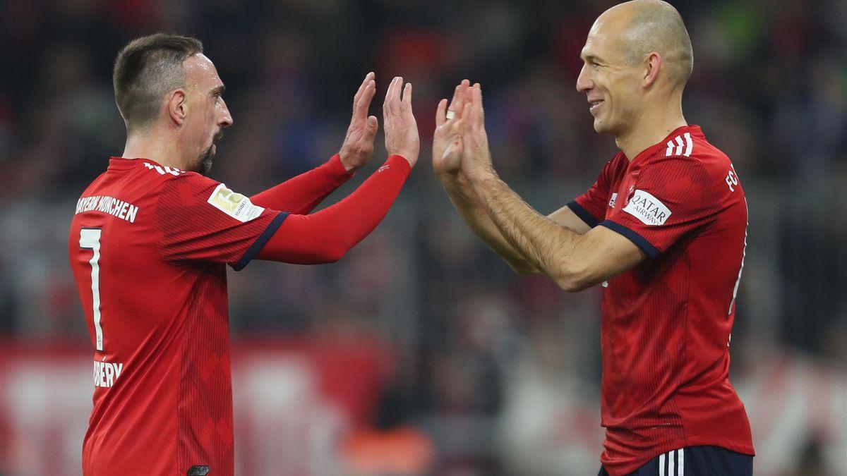 Franck Ribéry, Arjen Robben