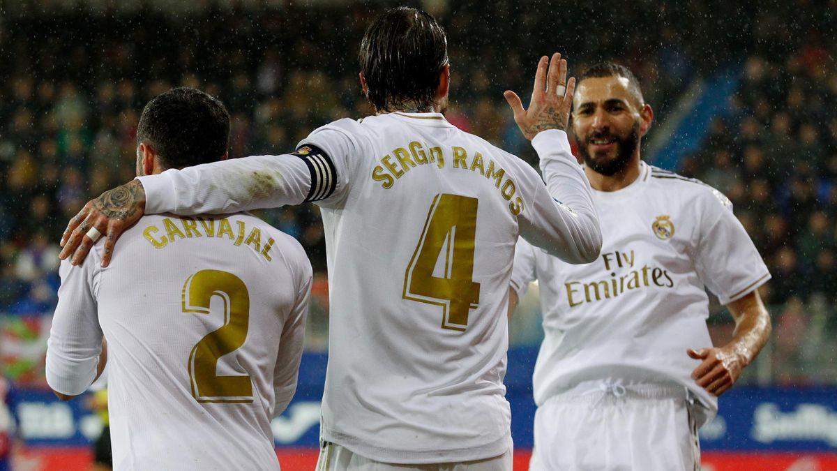 Sergio Ramos - Eibar-Real Madrid - Liga 2019/2020 - Getty Images