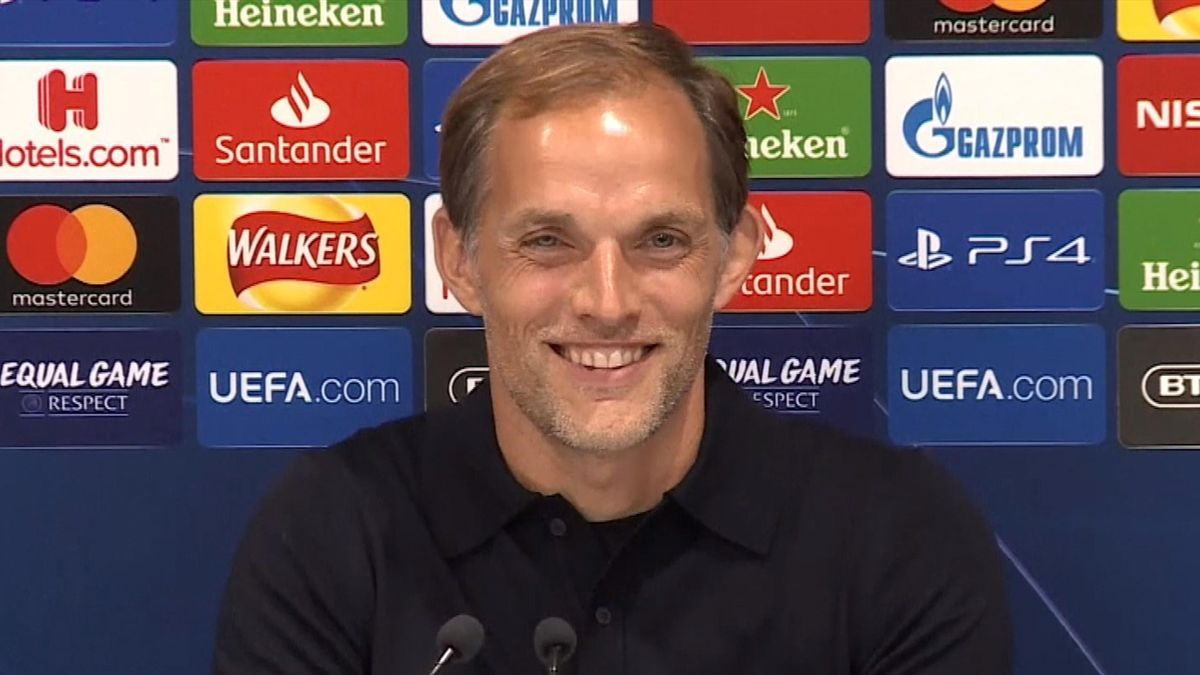 Somebody's mom called during Tuchel press-conference (SNTV)