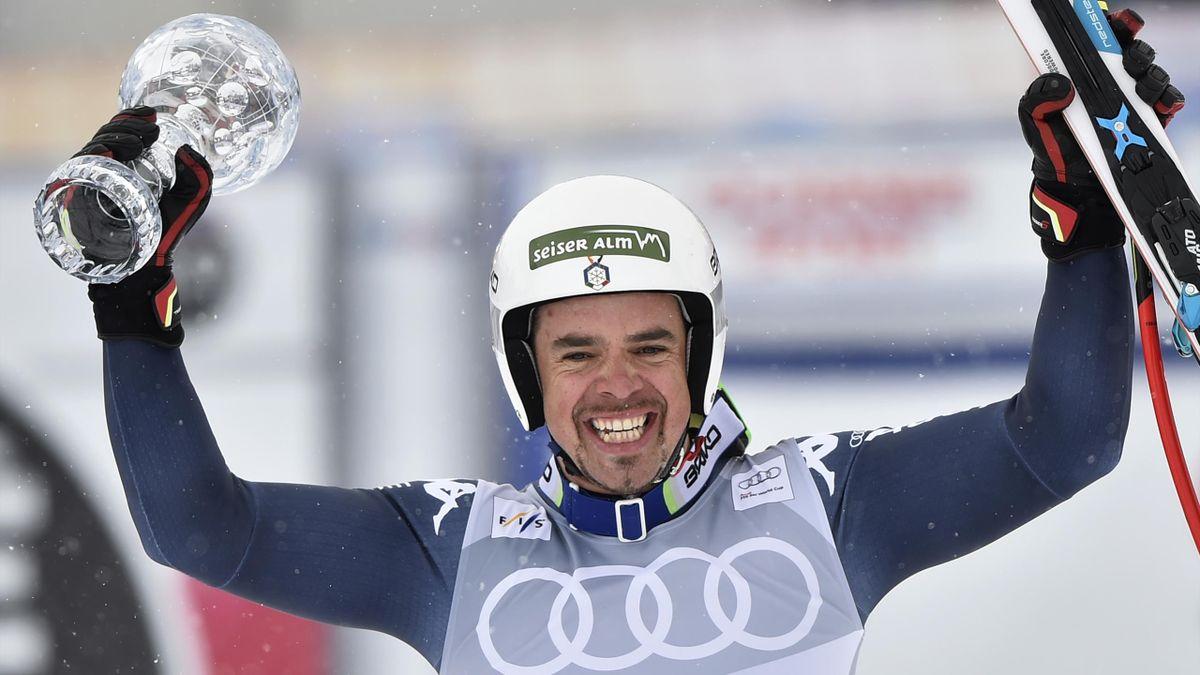 Peter Fill, vainqueur du globe de la descente
