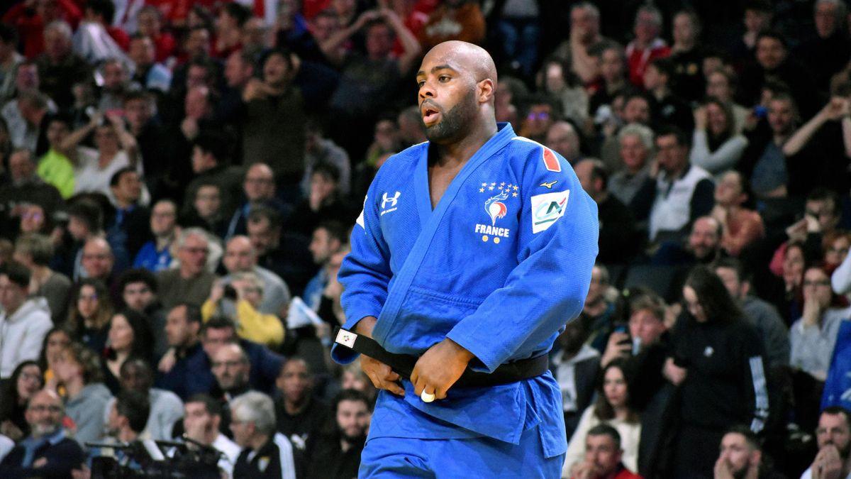 Teddy Riner, battu lors du tournoi de Paris 2020