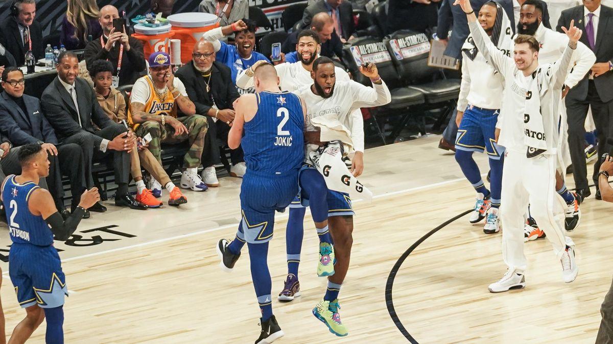 Команда Леброна – команда Янниса, Матч всех звезд НБА