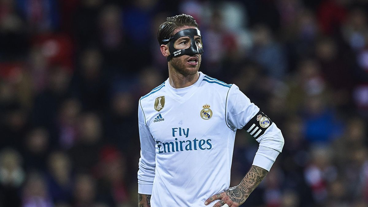 Sergio Ramos lors du match Athletic Bilbao-Real Madrid, le 2 décembre 2017.