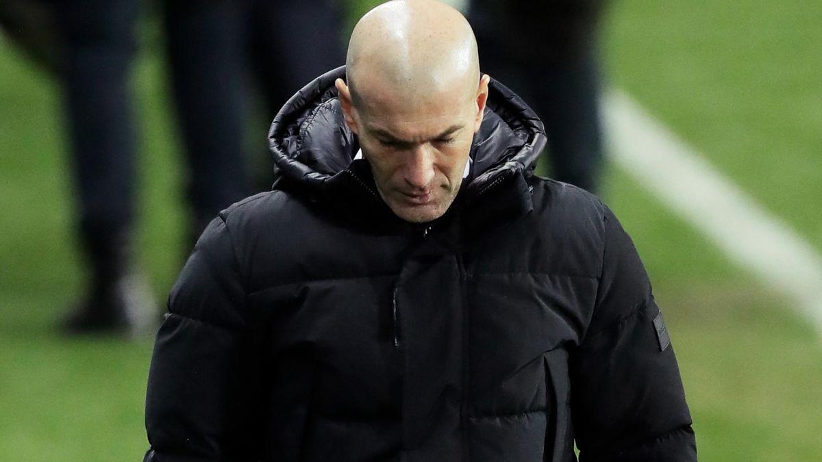 Zinédine Zidane, l'entraîneur du Real Madrid.