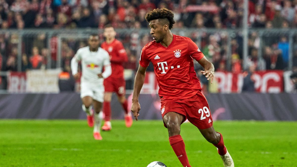 Kehrte nach seiner Verletzung gegen RB Leipzig zurück: Bayerns Kingsley Coman
