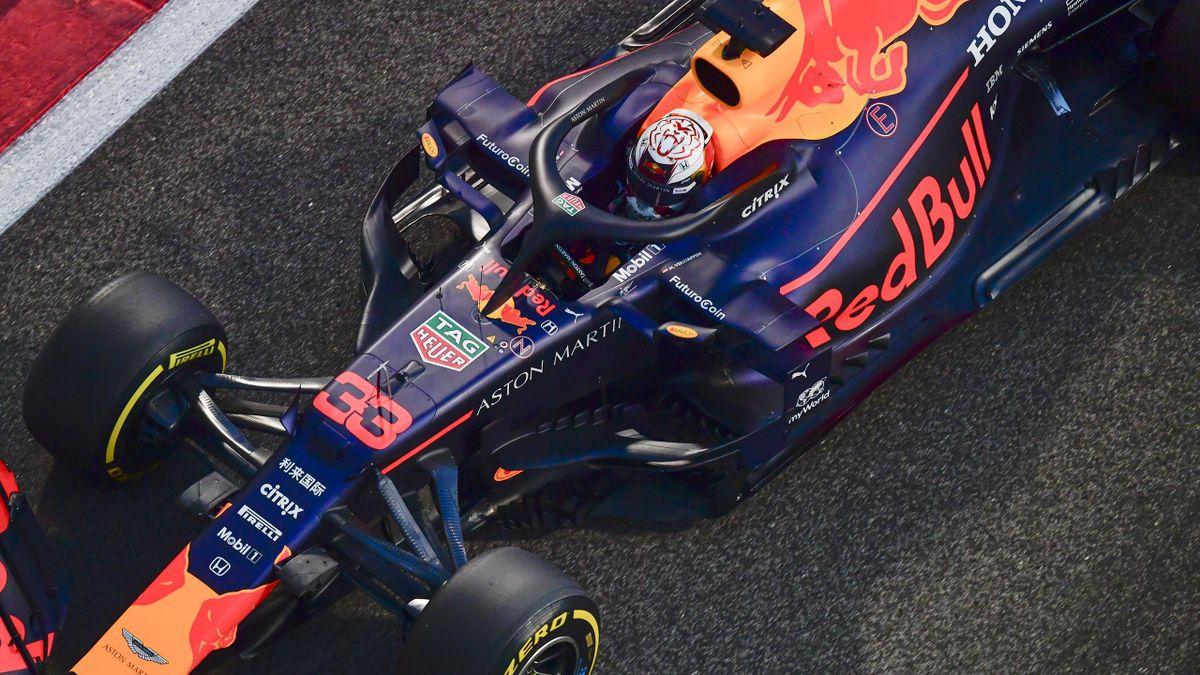Max Verstappen (Red Bull) au Grand Prix d'Abou Dabi 2019