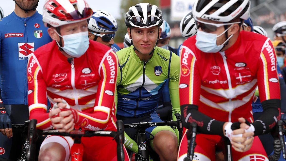 Tadej Pogacar bei der Rad-WM in Imola 2020
