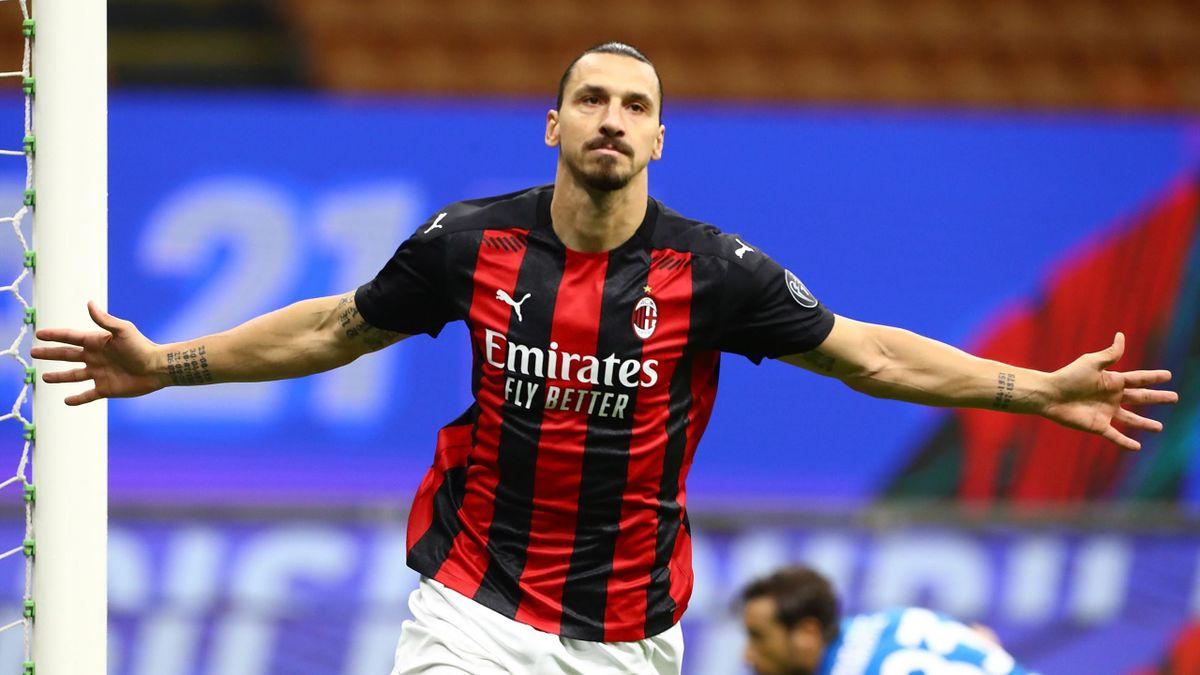 Zlatan Ibrahimovic vom AC Mailand hat seine Coronavirus-Infektion überstanden