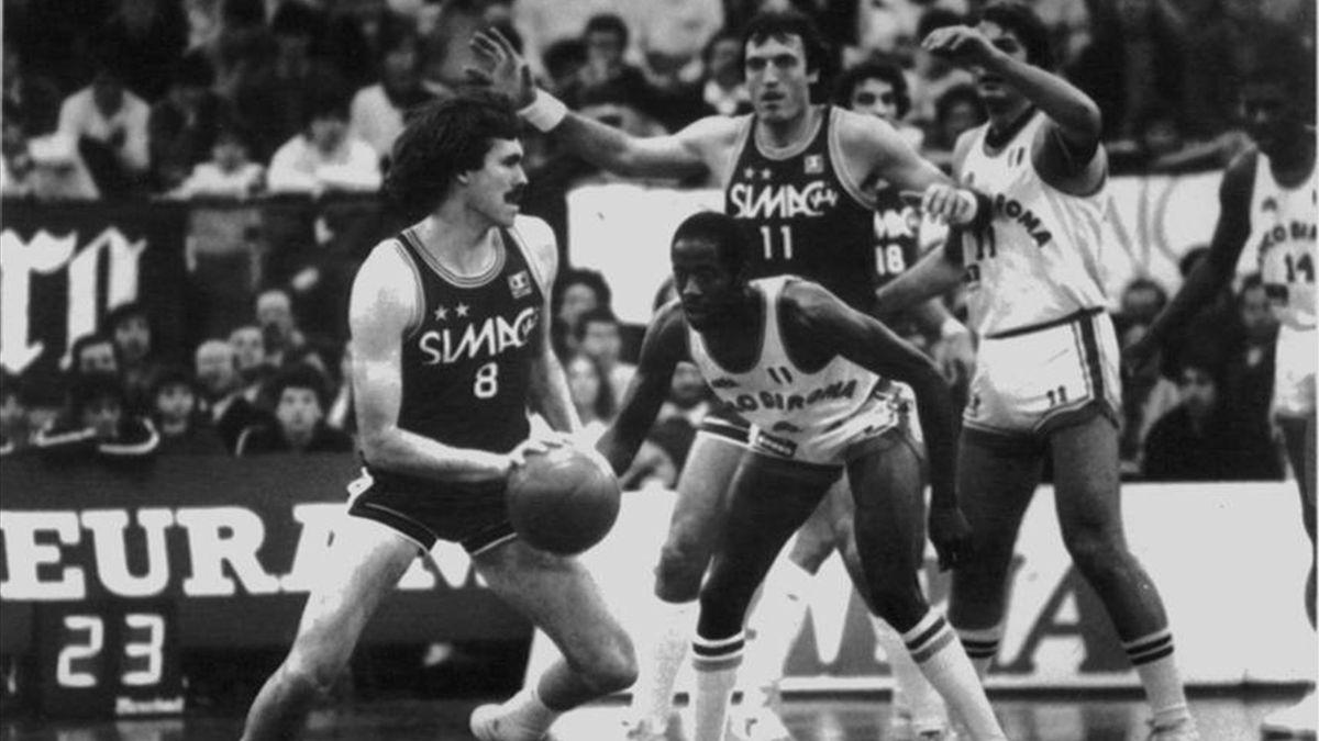 Serie A, Milano-Roma 1983, Mike D'Antoni, Larry Wright