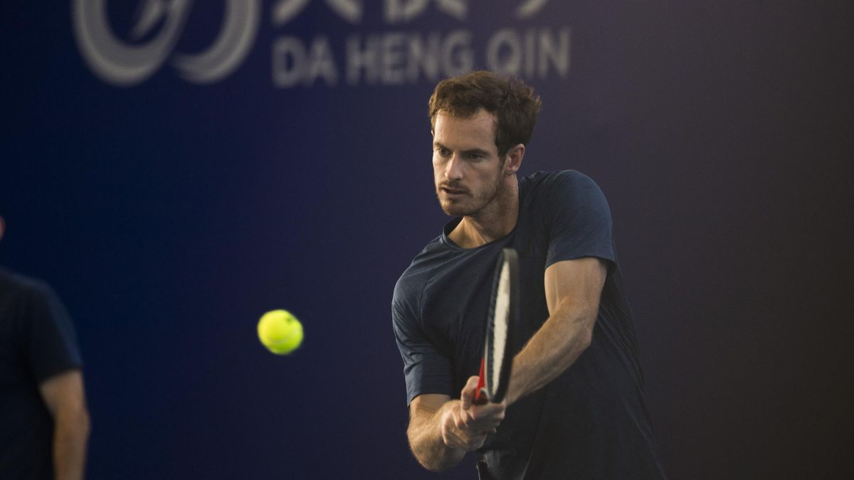 Andy Murray à Zhuhaï en 2019