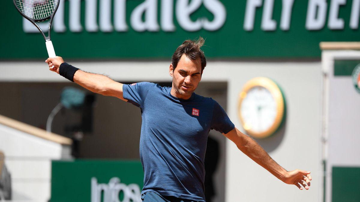 Roger Federer à Roland-Garros (2021)