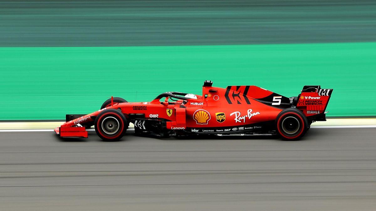 Sebastian Vettel (Ferrari) au Grand Prix du Brésil 2019