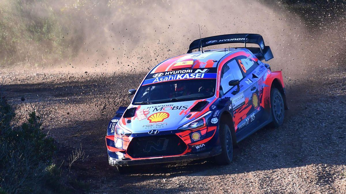 WRC - Rallye de Monza : Sordo en tête, Ogier devant Evans - Eurosport