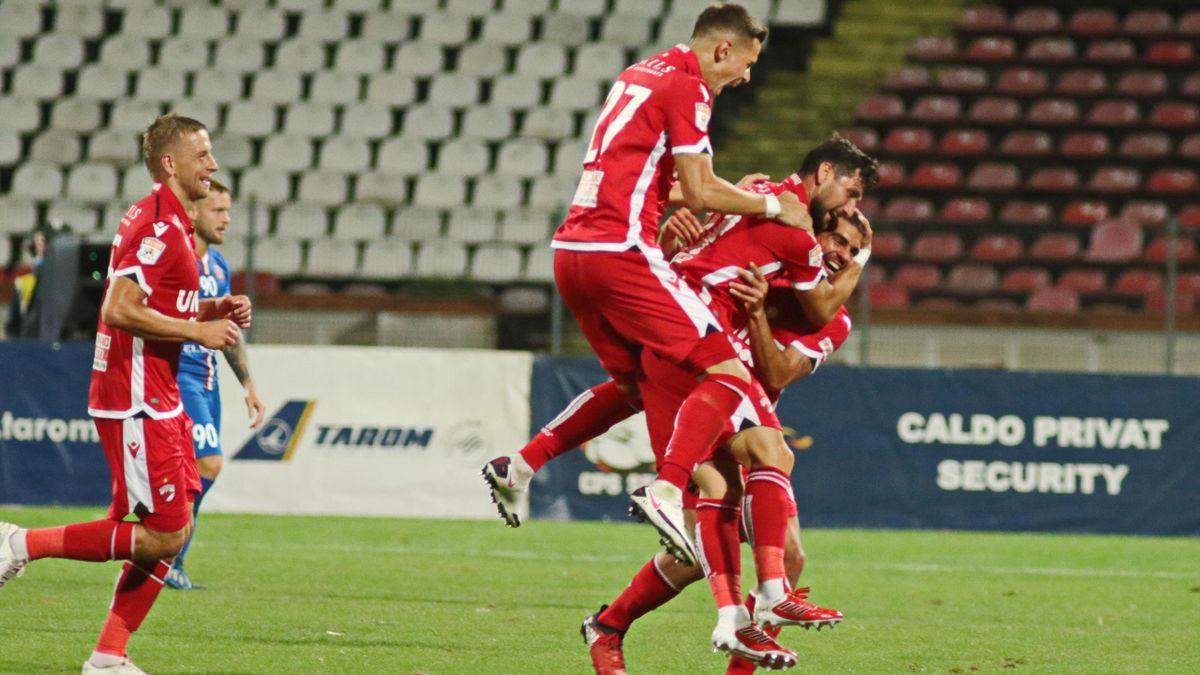 Borja Valle (Dinamo) a reușit un gol superb cu FC Botoșani