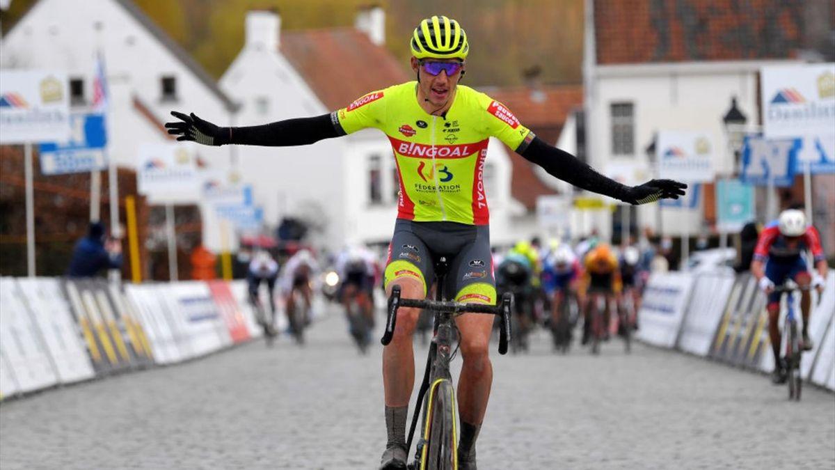 Robeet vince in solitaria la Nokere Koerse 2021 - Getty Images