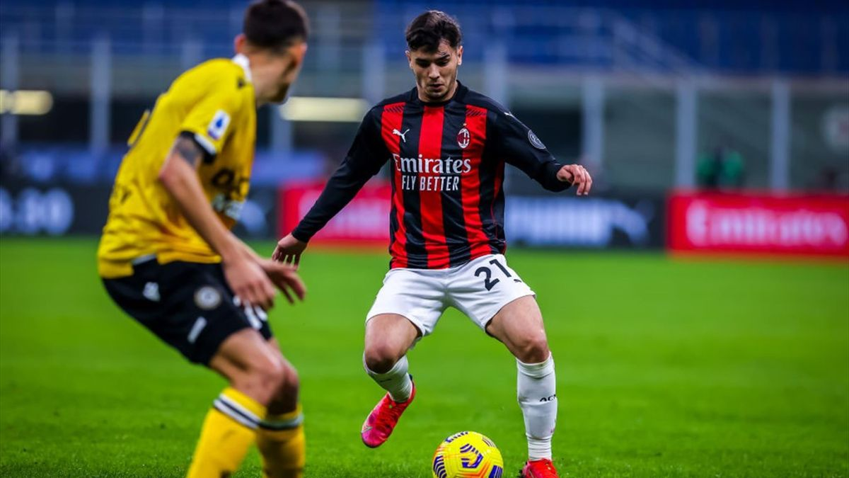 Brahim Diaz durante il match Milan-Udinese - Serie A 2020/2021 - Getty Images
