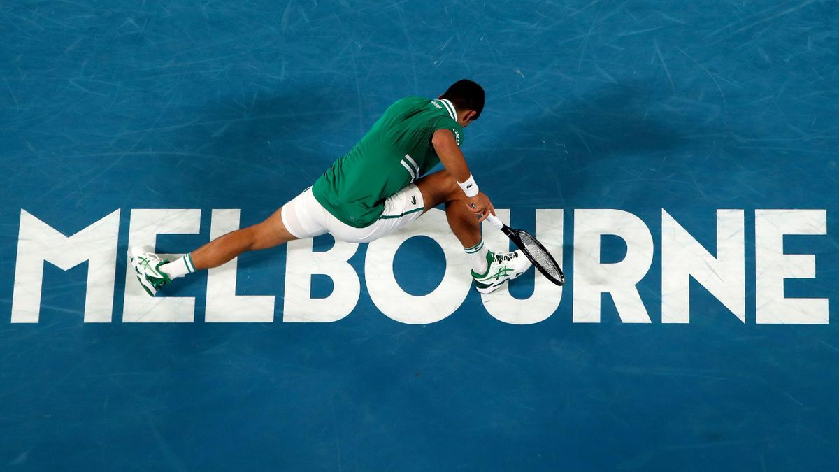 Novak Djokovic à l'Open d'Australie