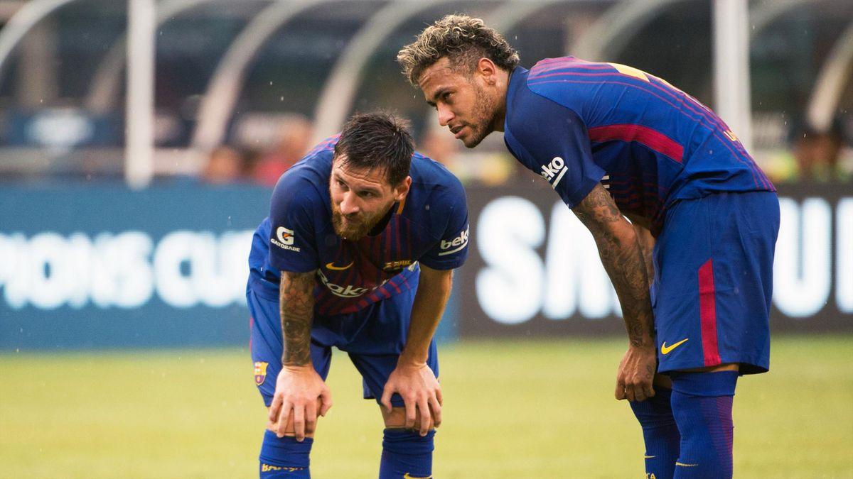 Lionel Messi, Neymar - FC Barcelona