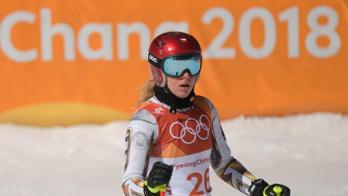 Ester Ledecka - Women's Super-G - Pyeongchang 2018 Winter Olympic Games - Getty Images