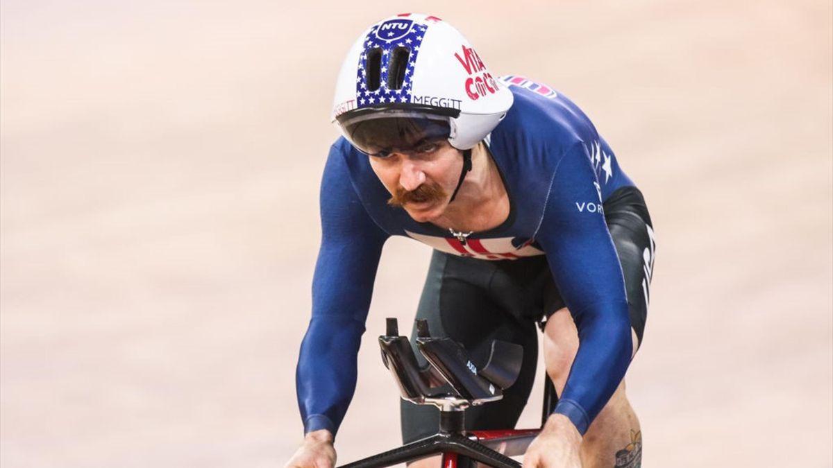 Lambie heeft een heel knappe prestatie neergezet die de UCI nog wel officieel moet maken