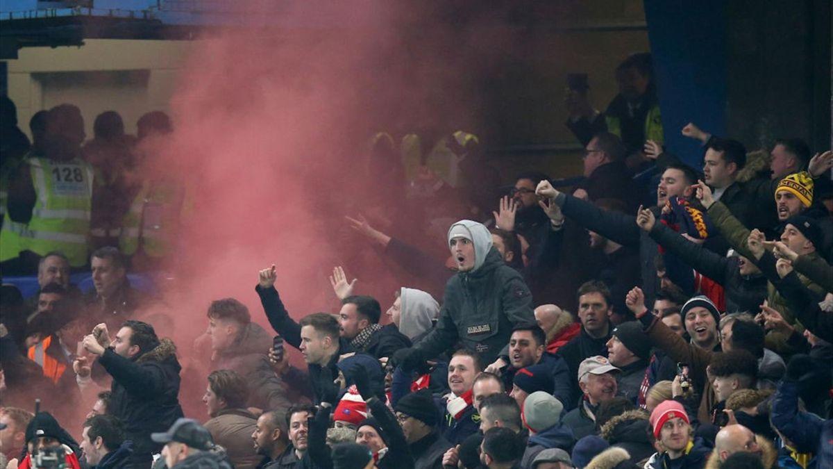 Arsenal - Liverpool, meci din anul 1914
