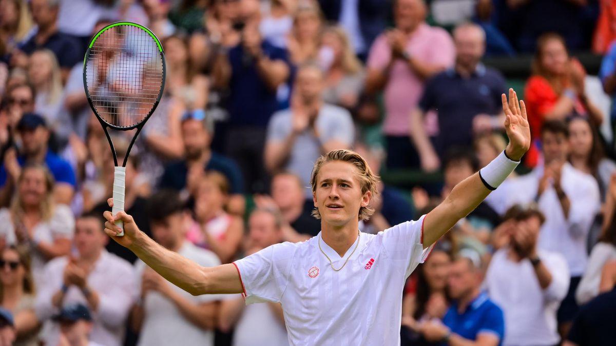 Sebastian Korda steht in Wimbledon im Achtelfinale