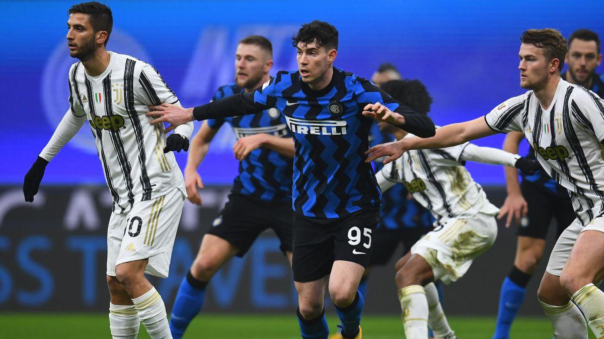Alessandro Bastoni, Inter-Juventus 20/21