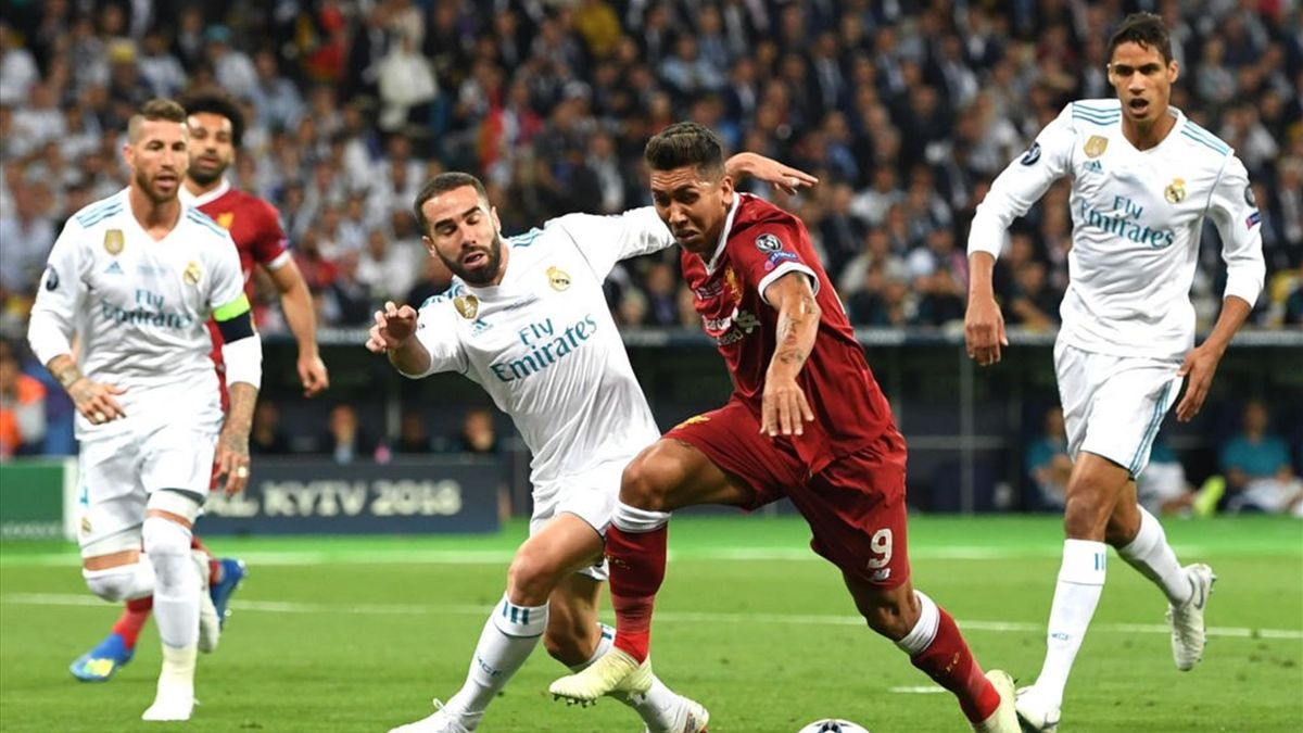 Firmino - Real Madrid-Liverpool - Champions League 2017/2018 - Getty Images