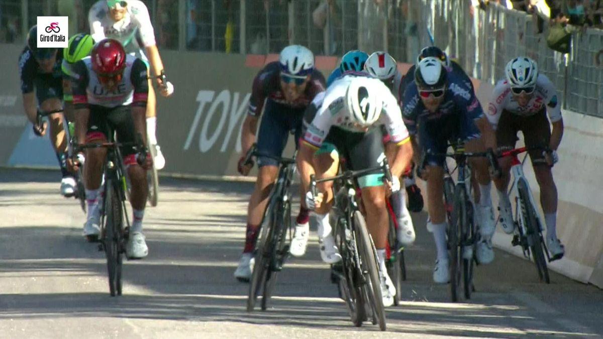 Et de 117 pour Sagan : son sprint victorieux en vidéo