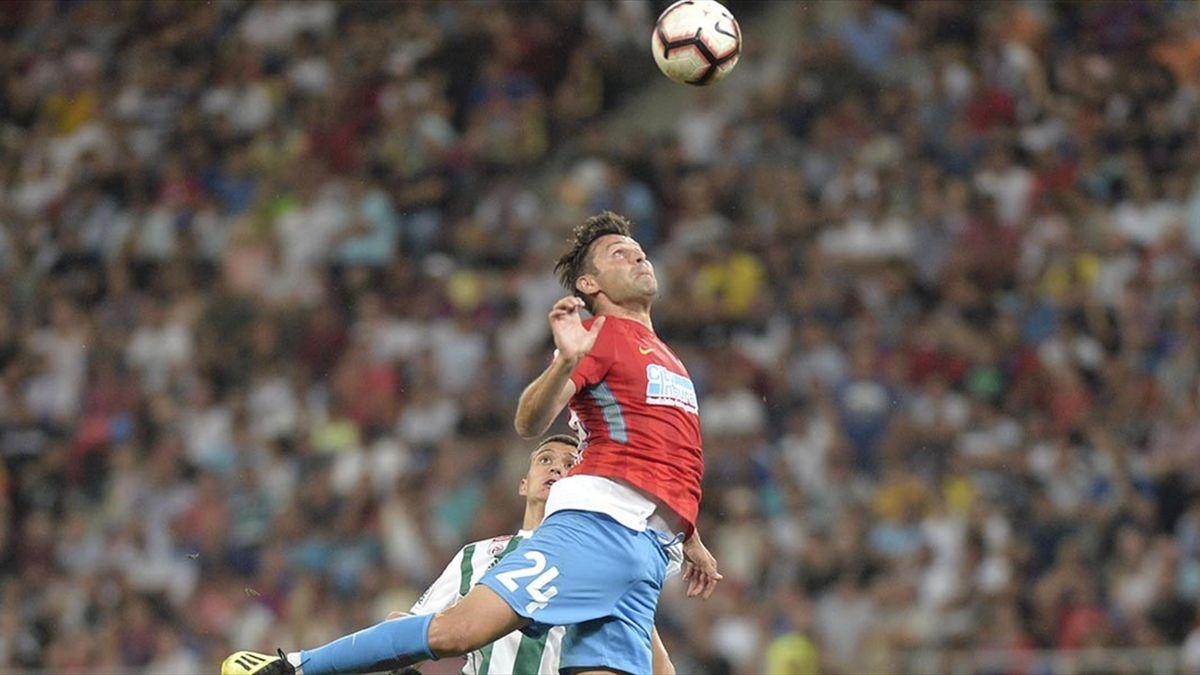 Raul Rusescu a revenit în Liga 1