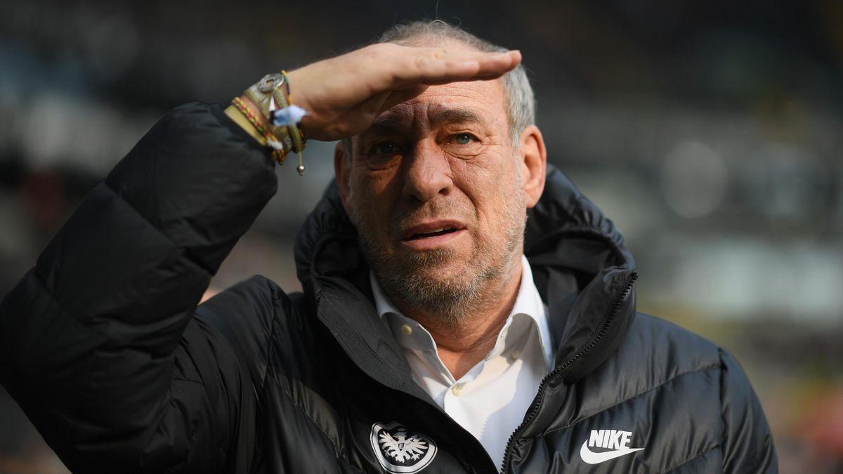 Eintracht Frankfurts Präsident Peter Fischer