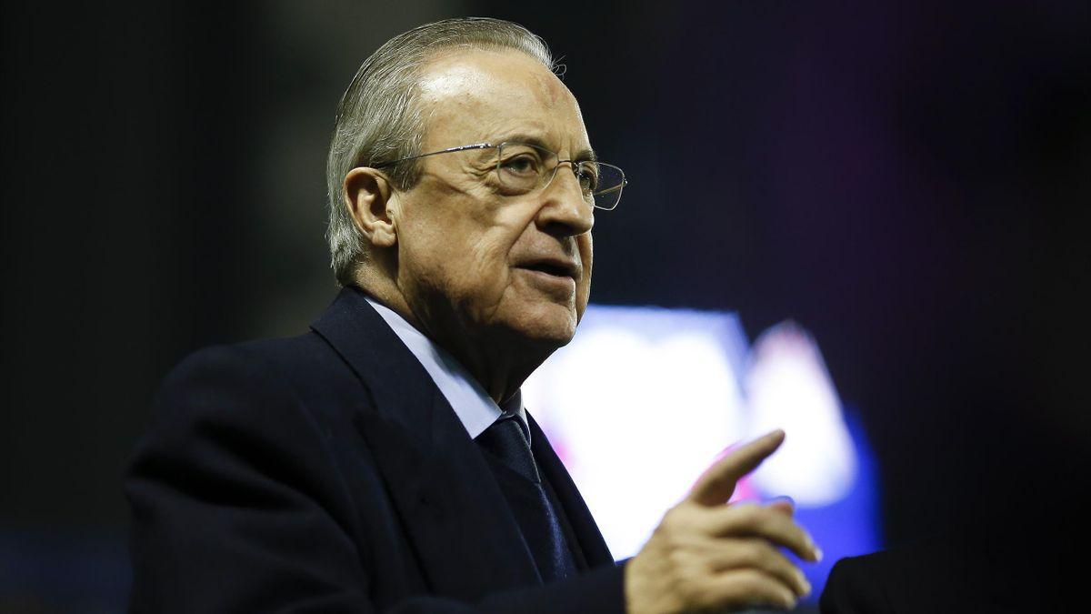 Florentino Pérez, a Real Madrid elnöke