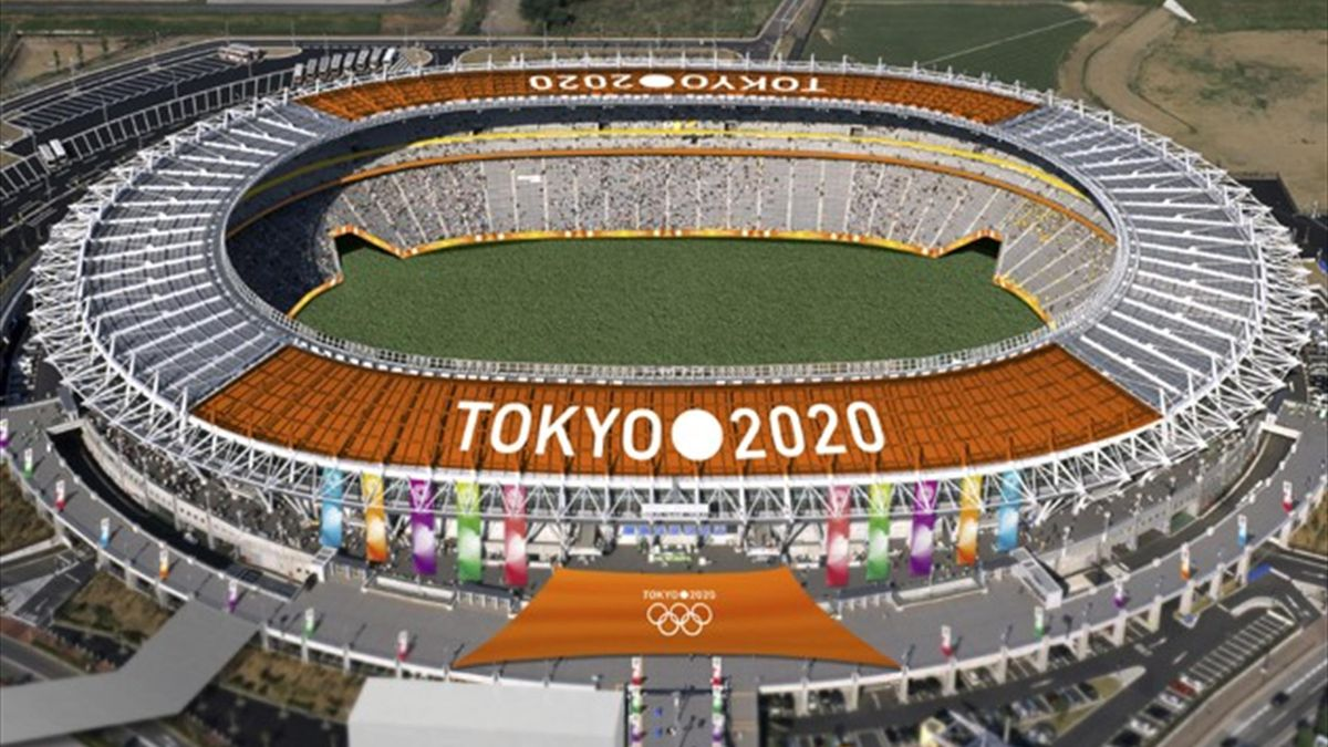 The Tokyo Stadium, one of Tokyo's proposed Olympic stadiums for the 2020 Olympics