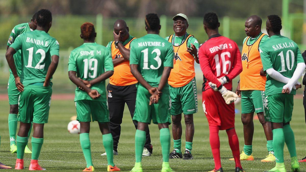 Команда из Замбии