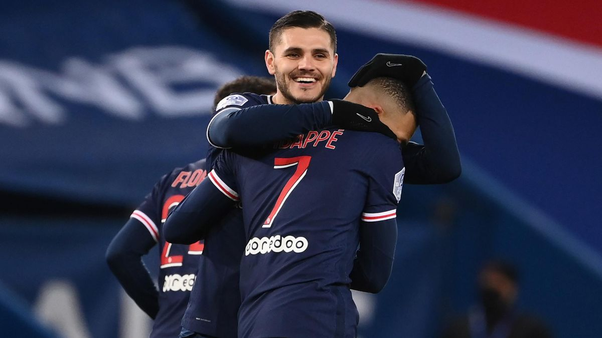 PSG thrash Montpellier to open three-point lead in Ligue 1 as Pochettino returns to sidelines