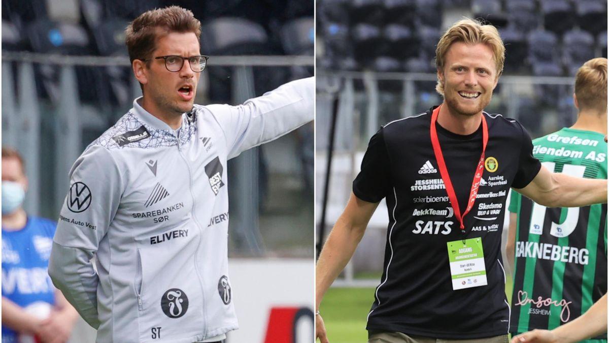 Sindre Tjelmeland og Andreas Aalbu