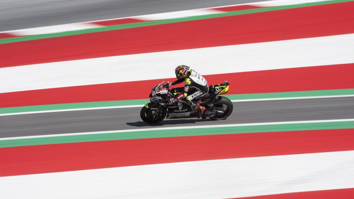 Johann Zarco (Ducati Avintia) sur le Red Bull Ring lors des essais du Grand Prix de Styrie, le 22 août 2020