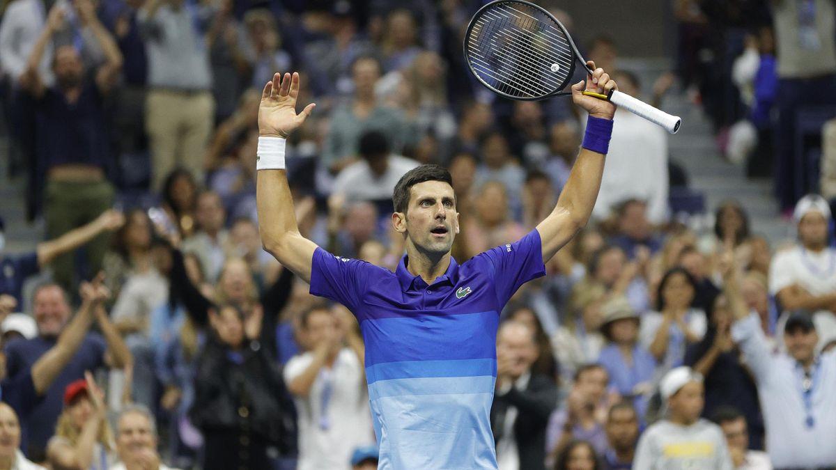 US Open 2021: Novak Djokovic closes on calendar Grand Slam with epic win over Alexander Zverev to reach final - Eurosport