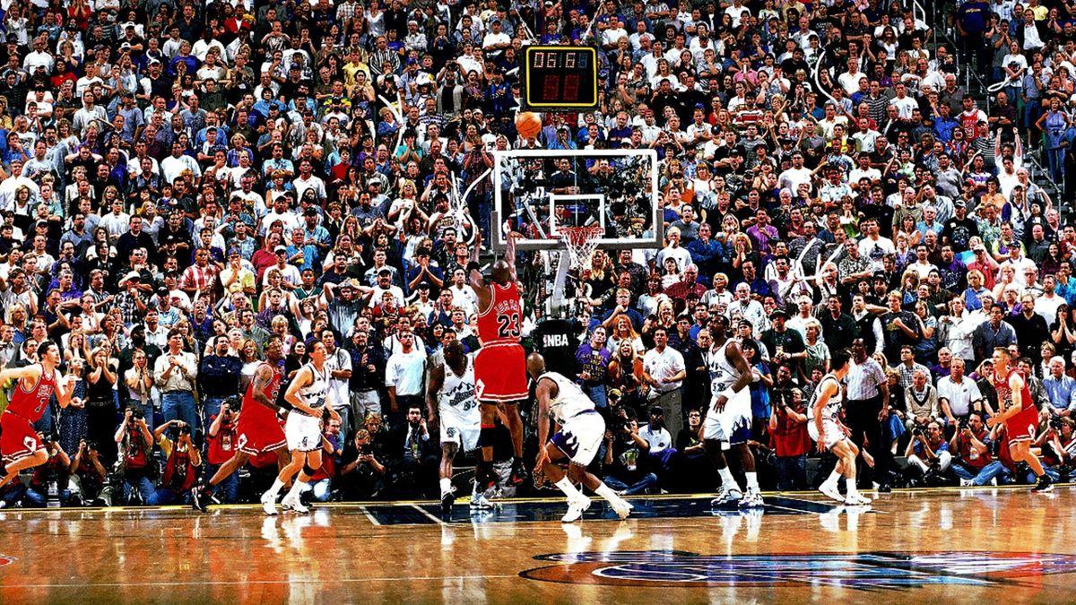 Michael Jordan, The Last Shot