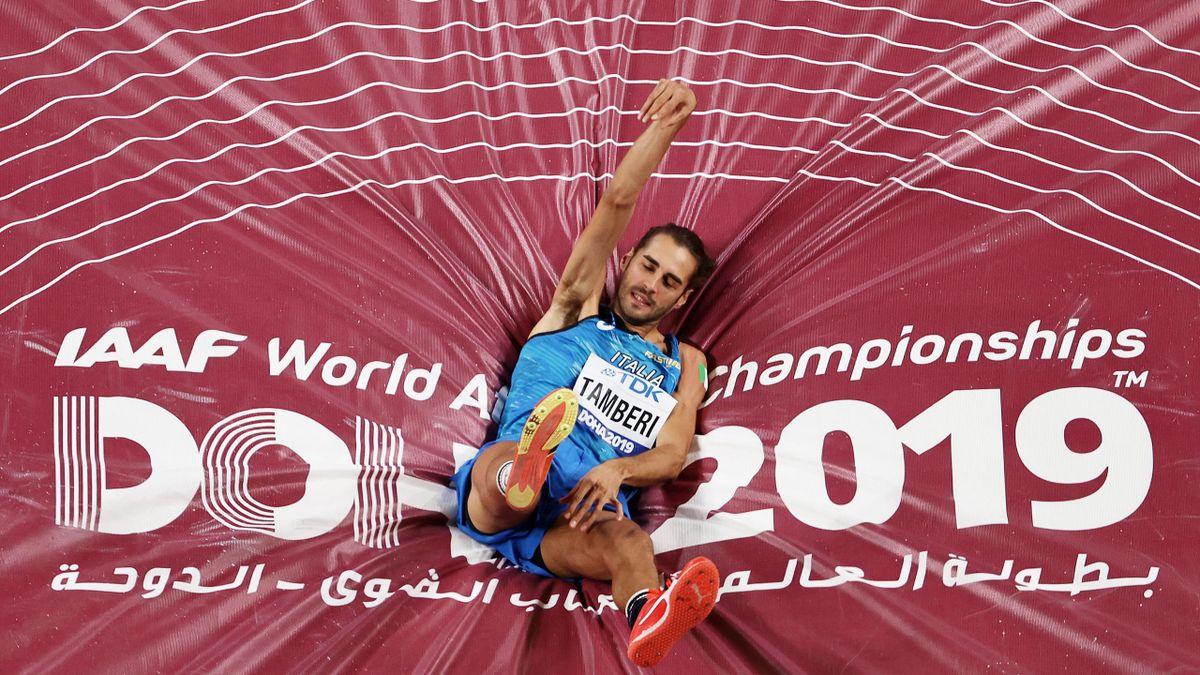 Gianmarco Tamberi ai Mondiali di Doha 2019