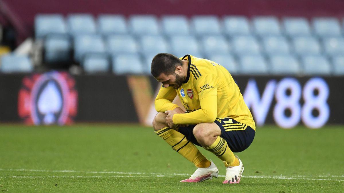 Sead Kolasinac vom FC Arsenal
