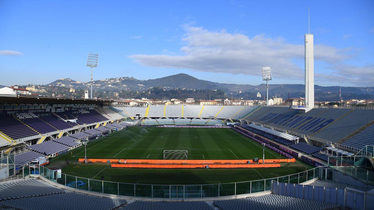 Le stade de la Fiorentina en 2021