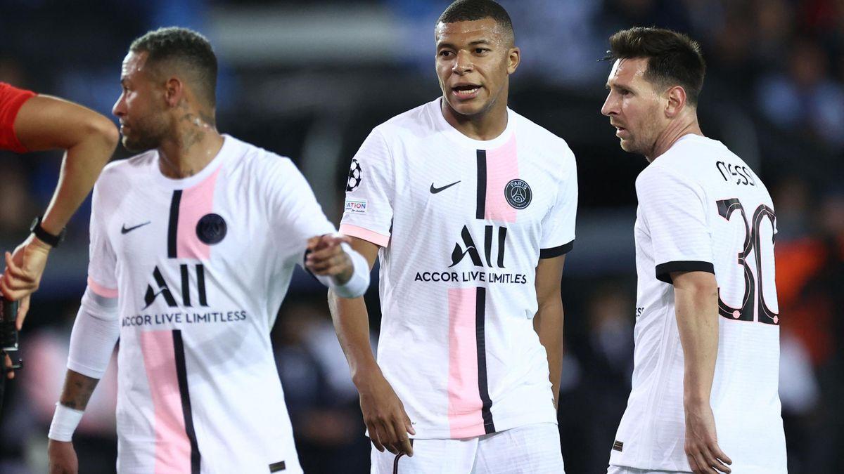 Messi, Neymar, Mbappe