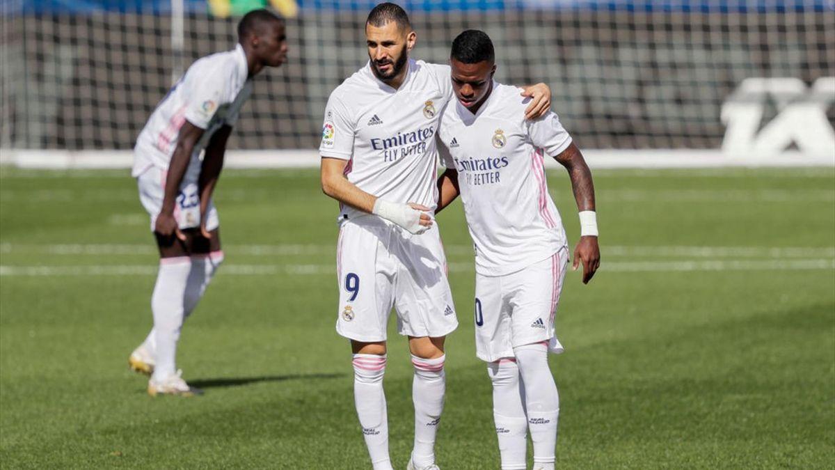 Karim Benzema et Vinicius Junior