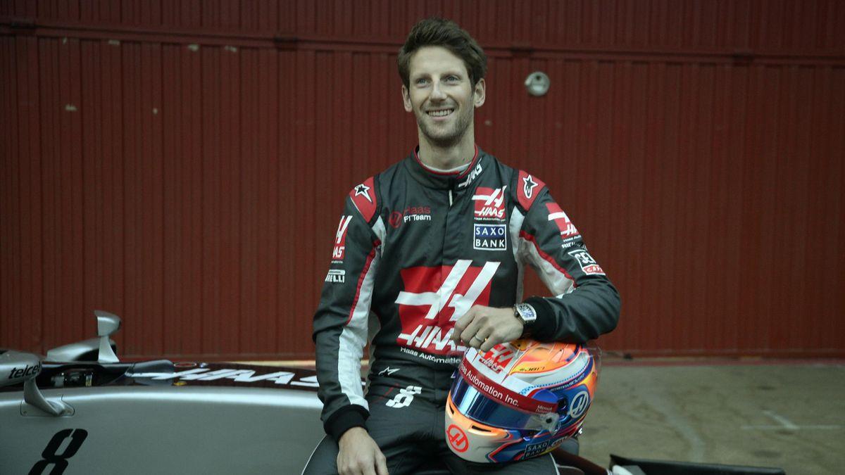 Romain Grosjean (Haas) - Montmelo Tests 2016