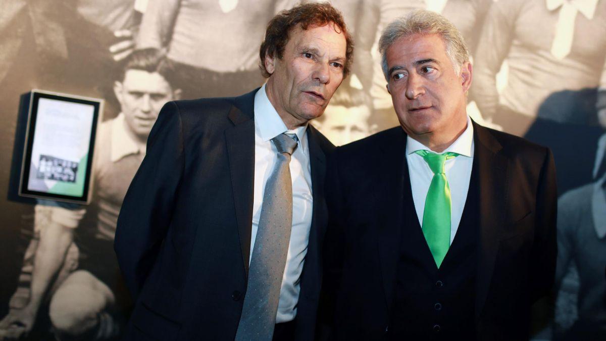 Romeyer et Caïazzo, les deux dirigeants de l'AS Saint-Etienne