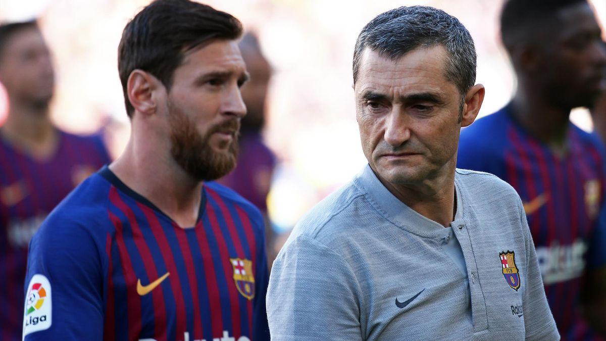 Leo Messi & Ernesto Valverde